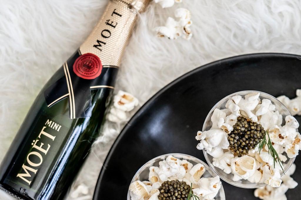 Moet Chandon and Caviar